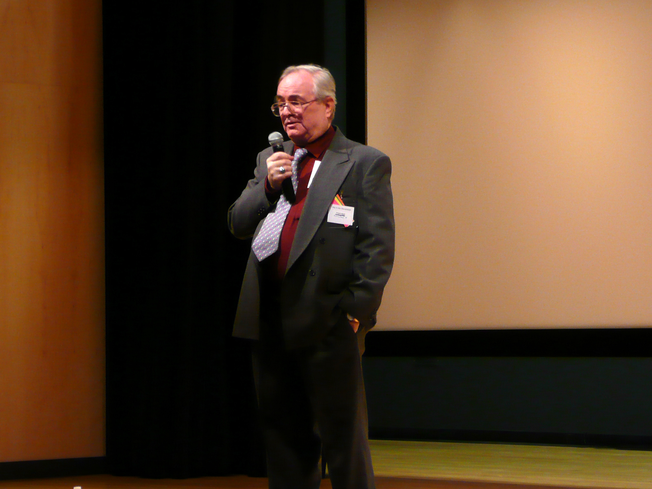 Hamit at Clovis conference